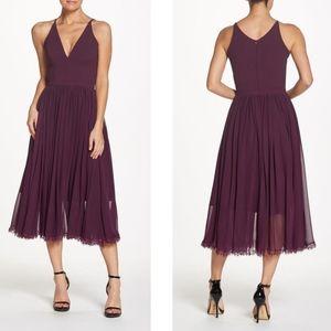 Dress the Population | Alicia Purple Chiffon Midi